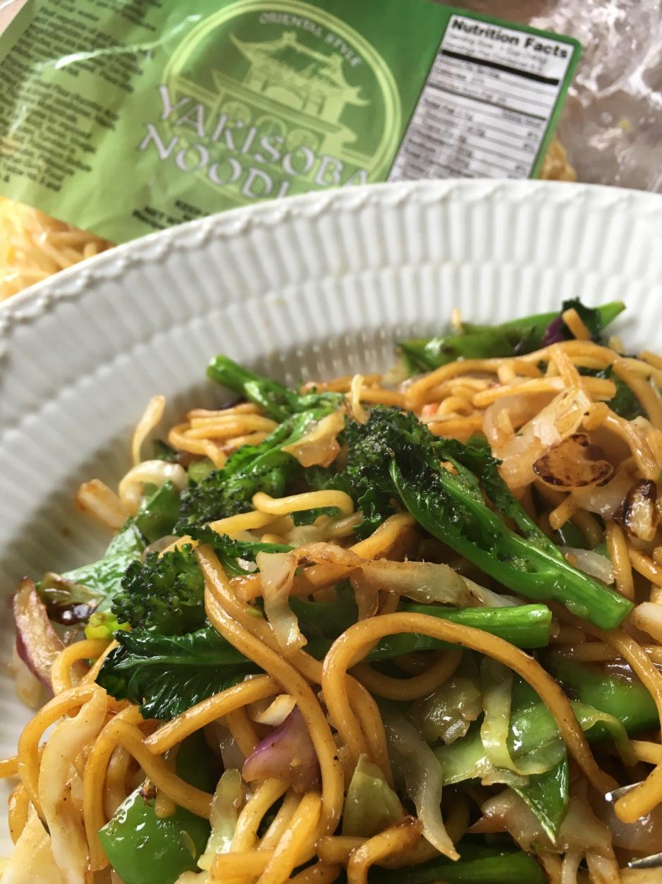 Yakisoba noodles 2016