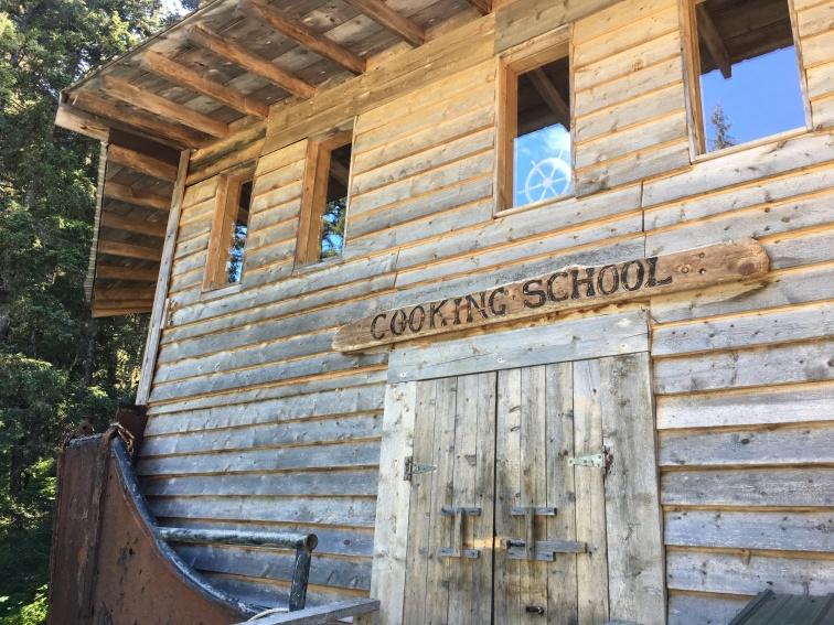 Cooking School Front door