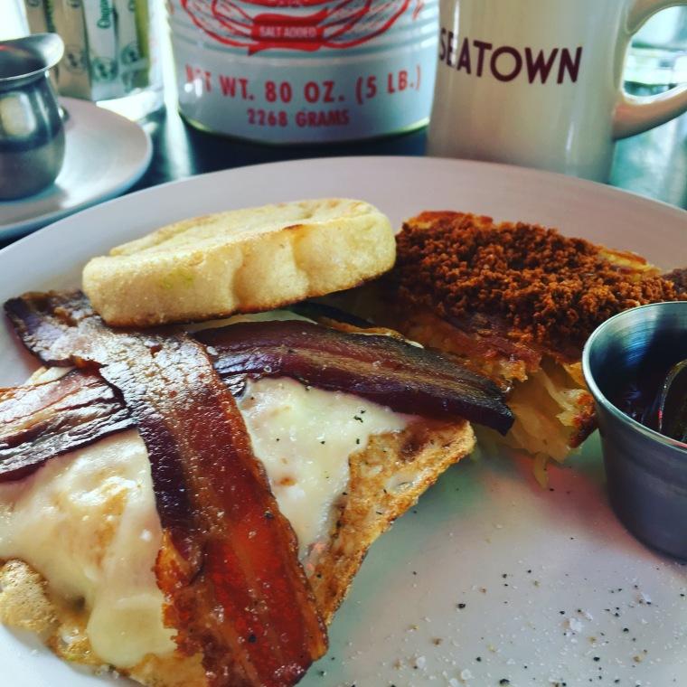Bacon Egg at Sea Town .JPG