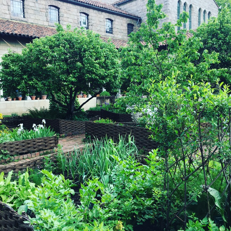The Cloister Herb Garden 2018